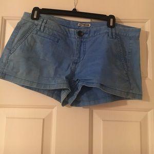 Express chino shorts- blue